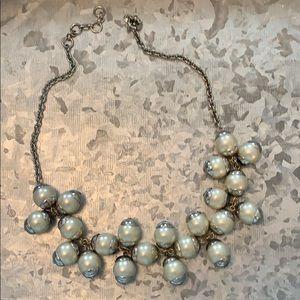 J.Crew pearl statement necklace